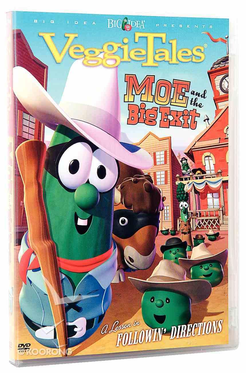 Veggie Tales #29: Moe and the Big Exit (#029 in Veggie Tales Visual Series (Veggietales)) DVD