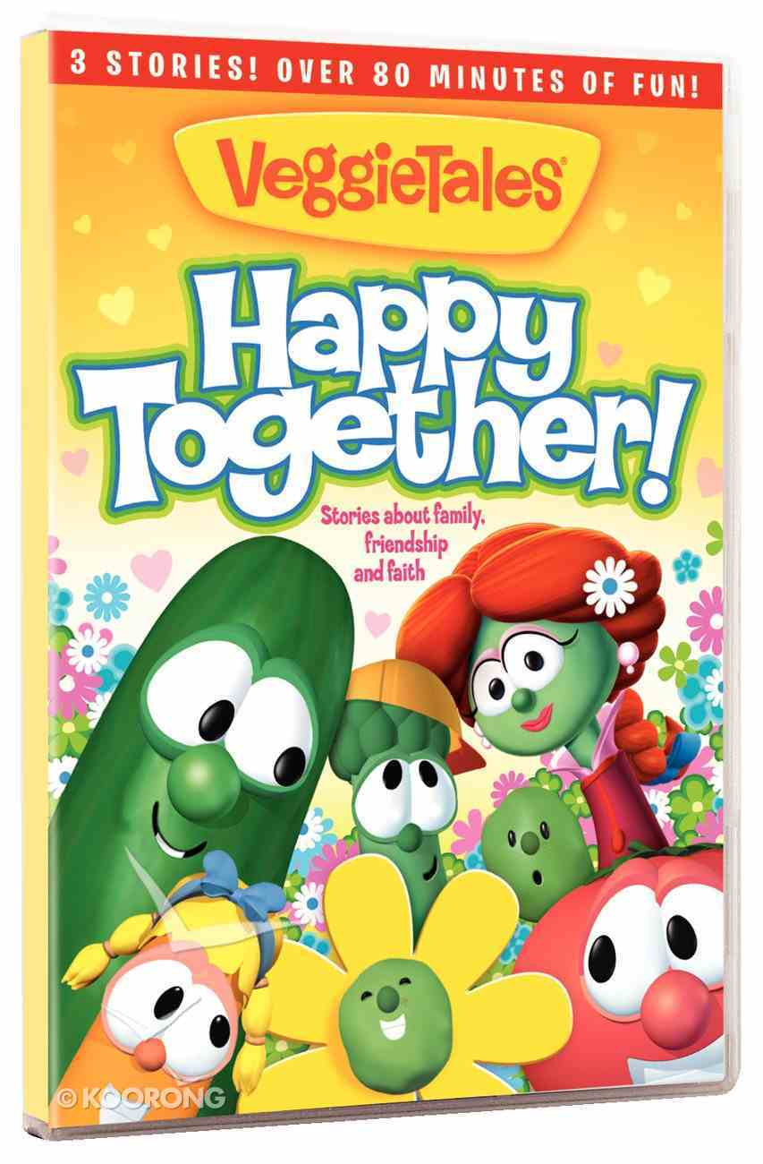 Veggie Tales: Happy Together - Stories of Friendship, Faith and Family DVD