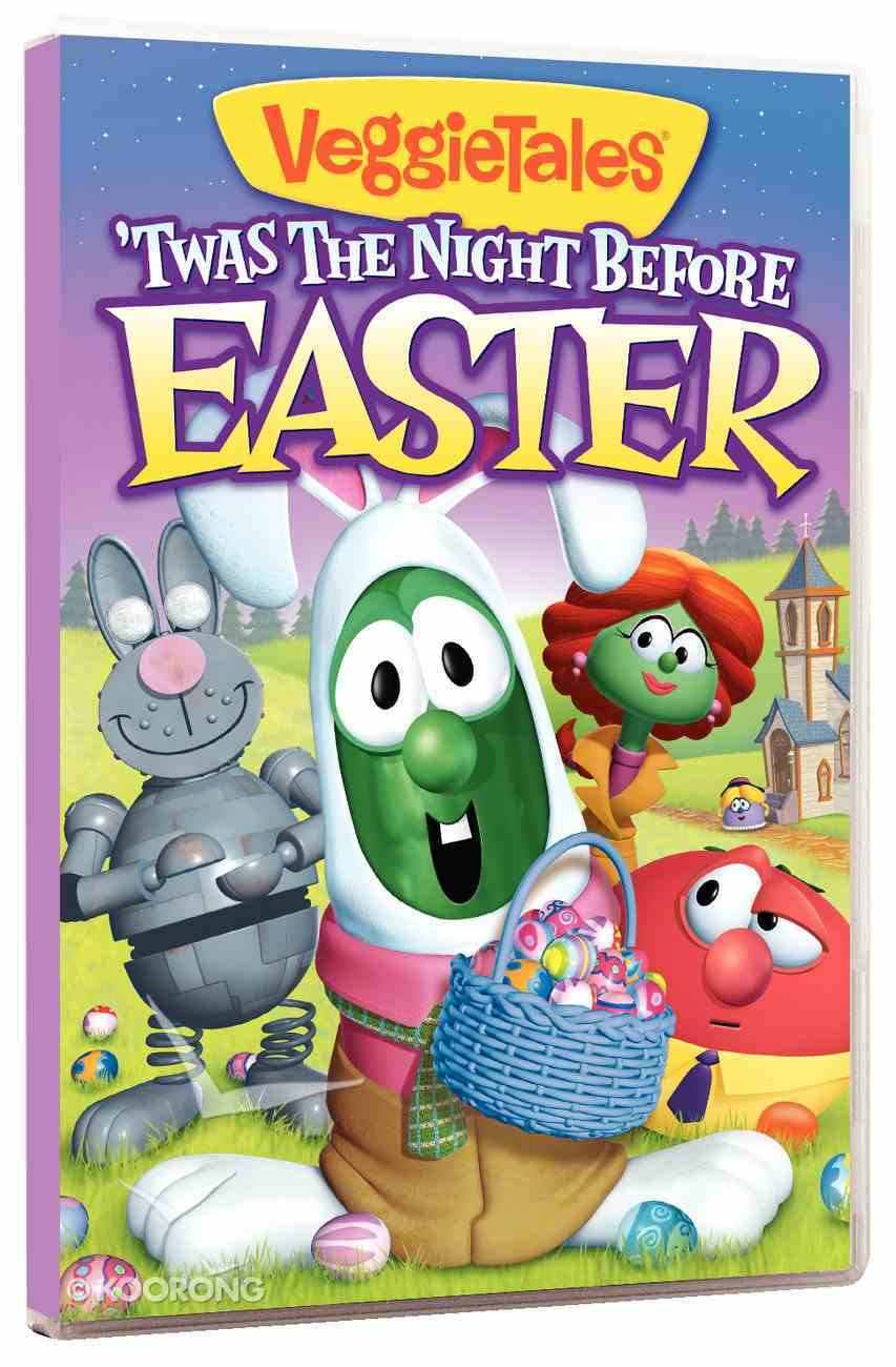 Veggie Tales #41: Twas the Night Before Easter (#041 in Veggie Tales Visual Series (Veggietales)) DVD