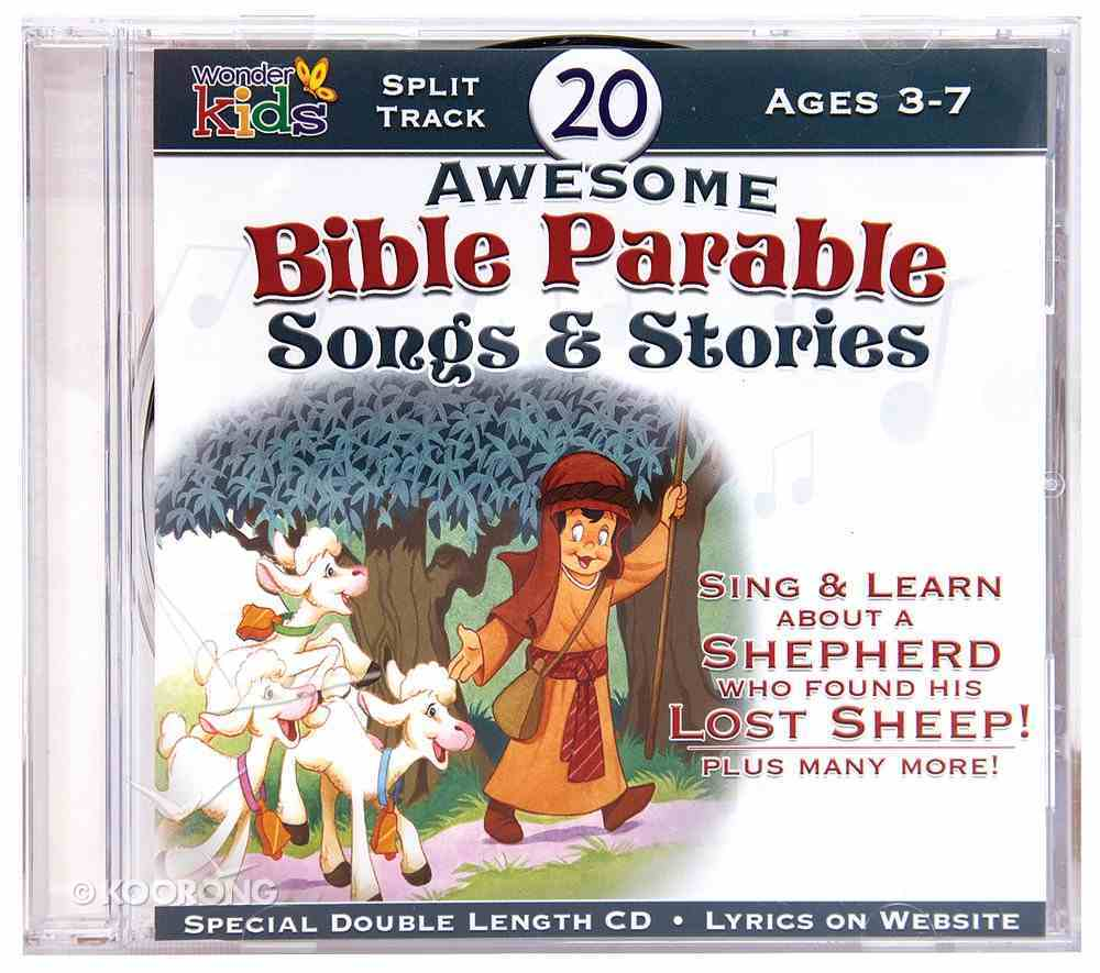 20 Awesome Bible Parable Songs & Stories CD
