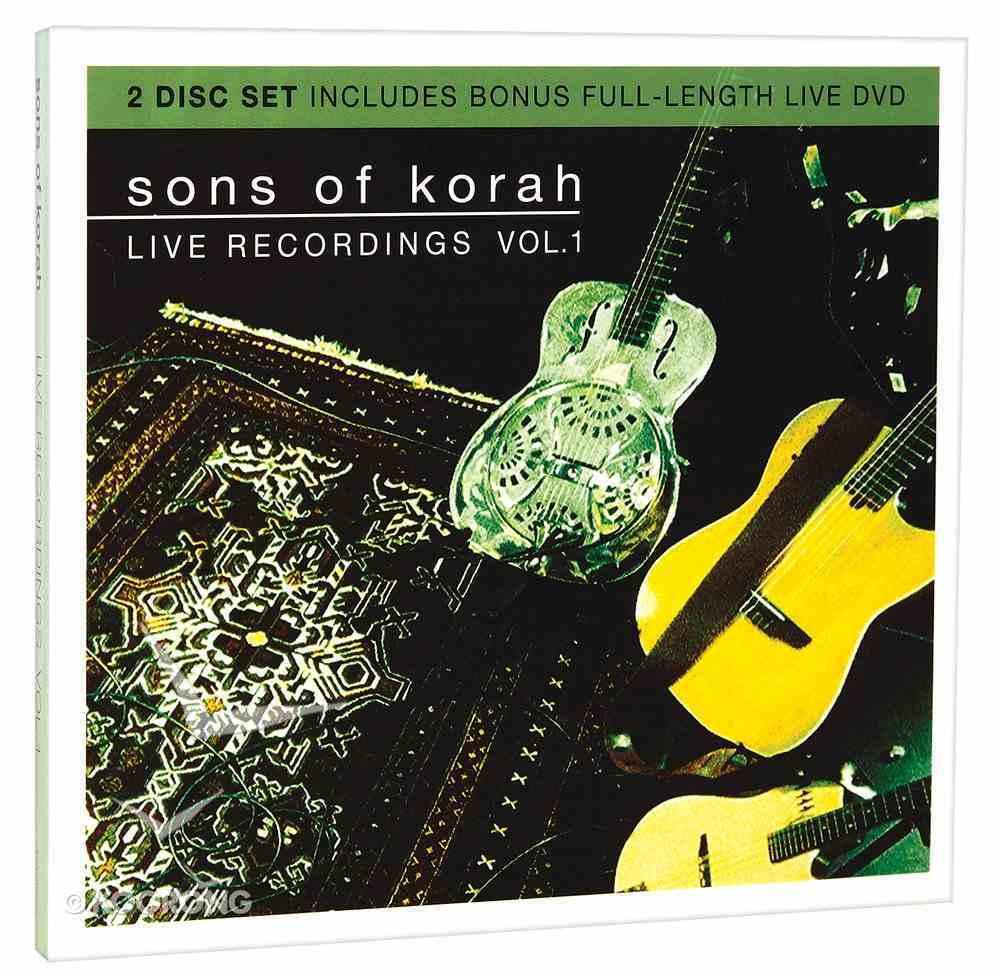 Sons of Korah: Live Recordings Vol. 1 (Cd/dvd) CD