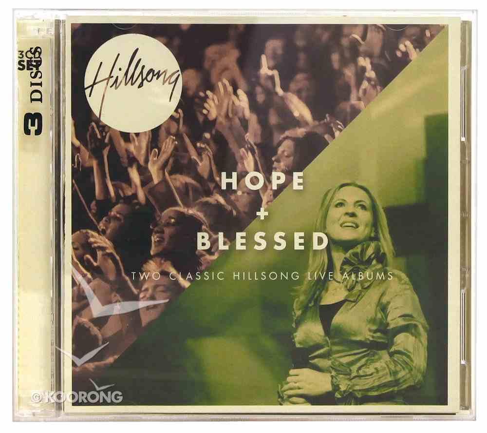 Hillsong Live 2 For 1 Pack: Hope & Blessed CD