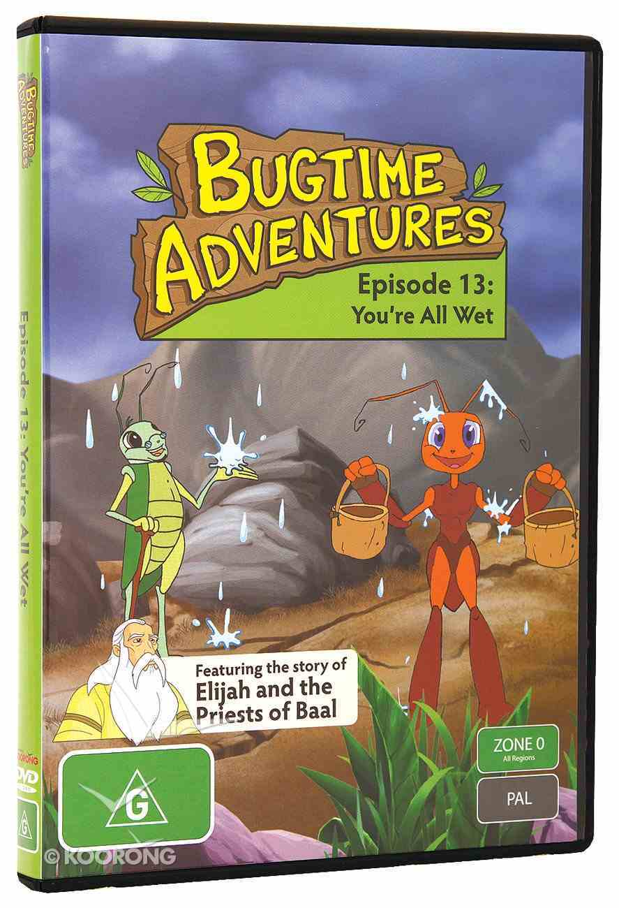 You're All Wet (#13 in Bugtime Adventures Series) DVD