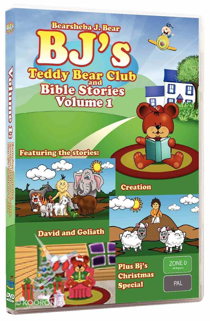 Bj Bearsheba #01 (Episodes 1,2 + Christmas Special) (#01 in Bj Bearsheba Series) DVD