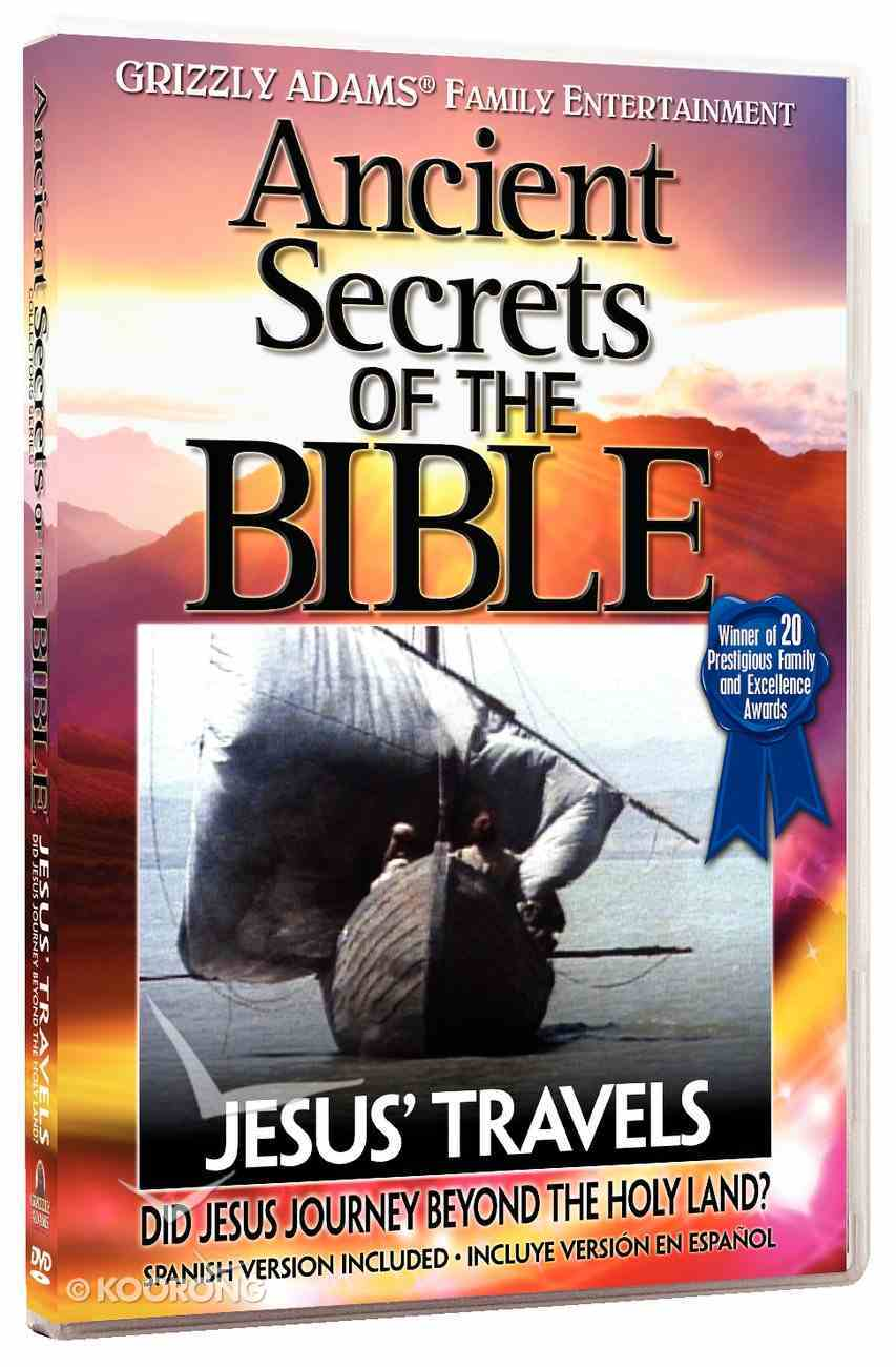 Ancient Secrets 3 #01: Jesus' Travels (#01 in Ancient Secrets Of The Bible Dvd Series) DVD