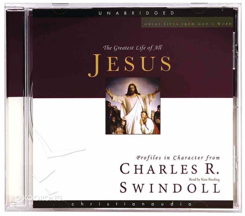 Jesus (Unabridged-Approx 11 Hrs) (MP3) (Great Lives From God's Word Series) CD