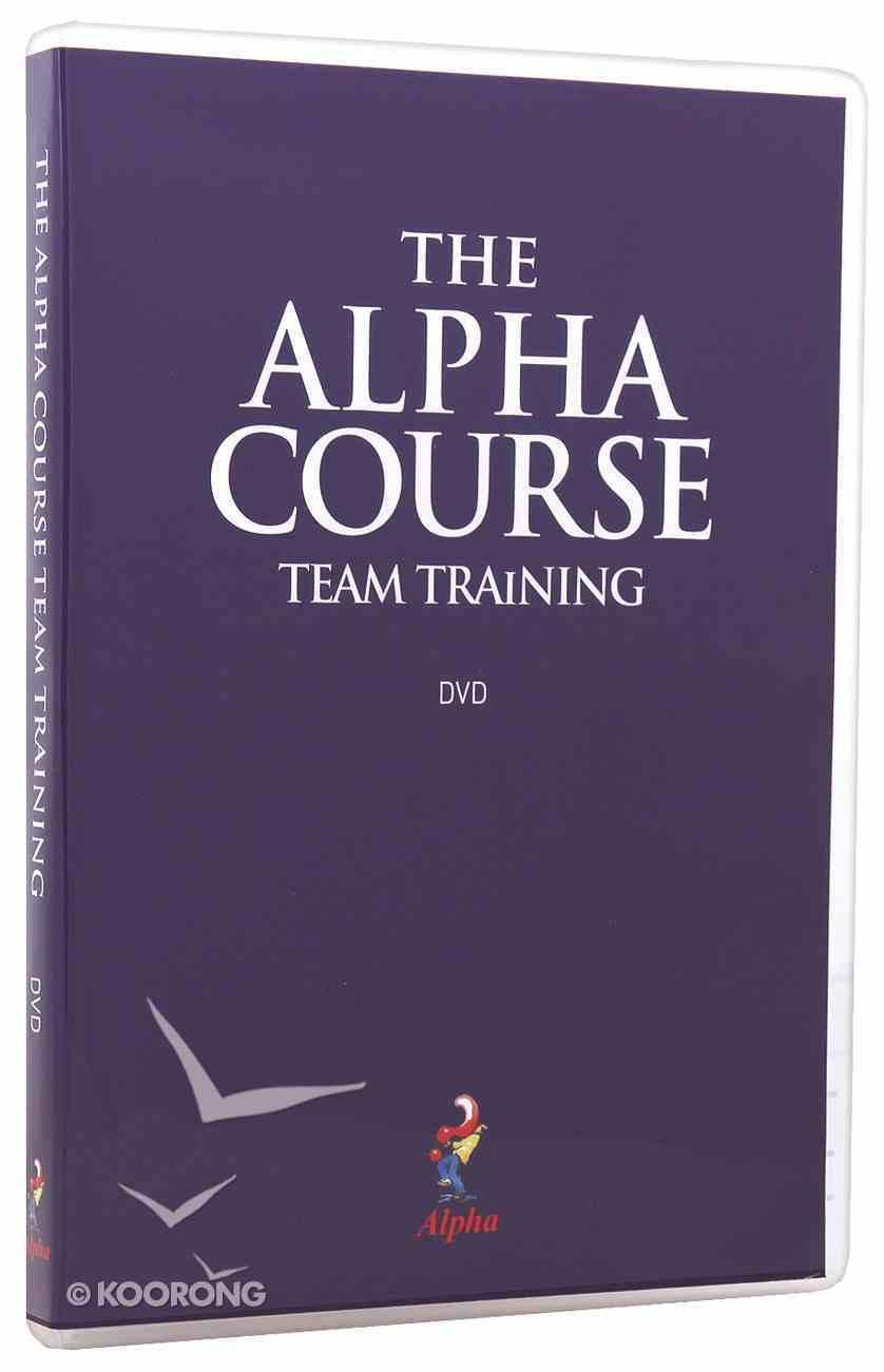 Team Training (Alpha Course) DVD