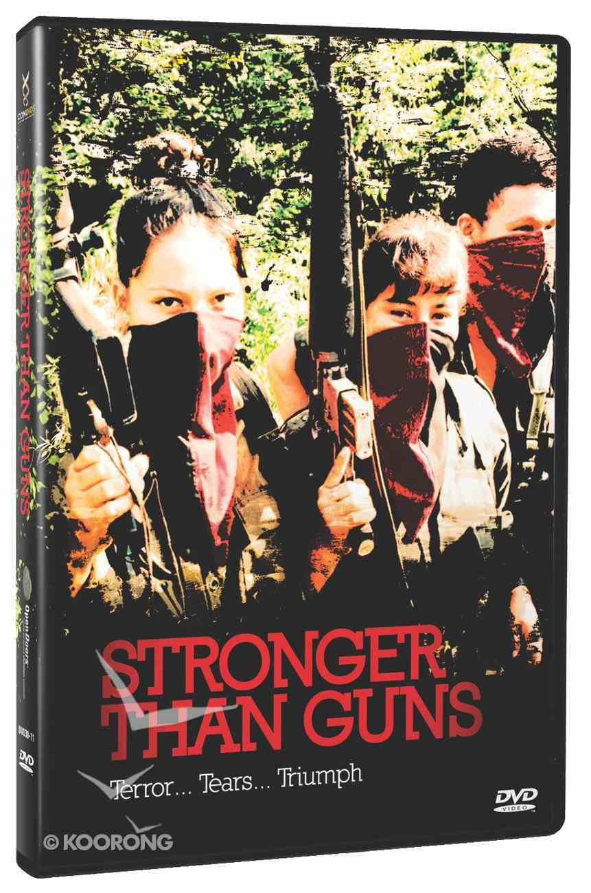 Stronger Than Guns DVD