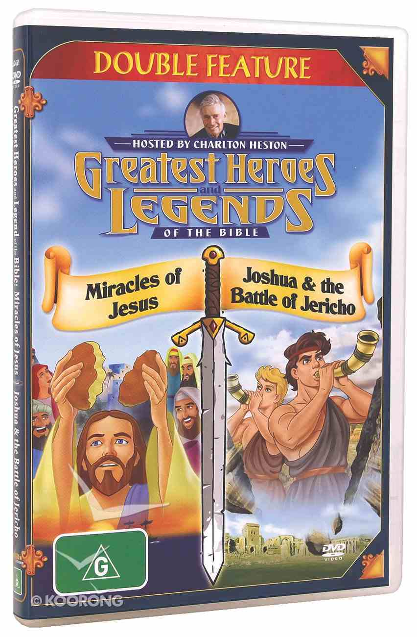 Miracle of Jesus/Joshua and the Battle of Jericho (Greatest Heroes & Legends Of The Bible Series) DVD