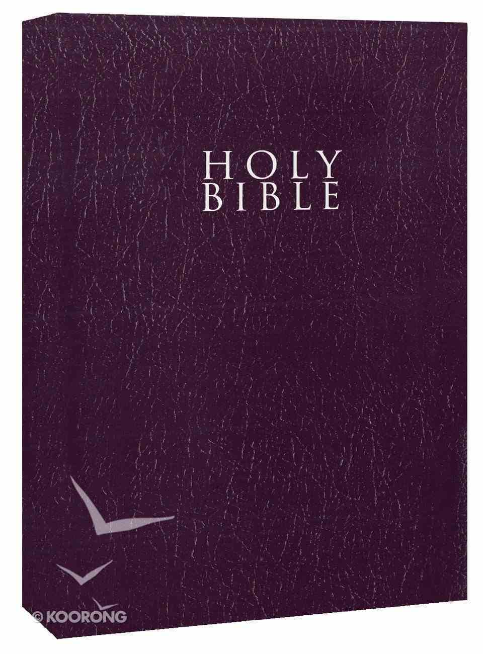 NIV Gift & Award Bible Purple Leather Look (Red Letter Edition) Imitation Leather