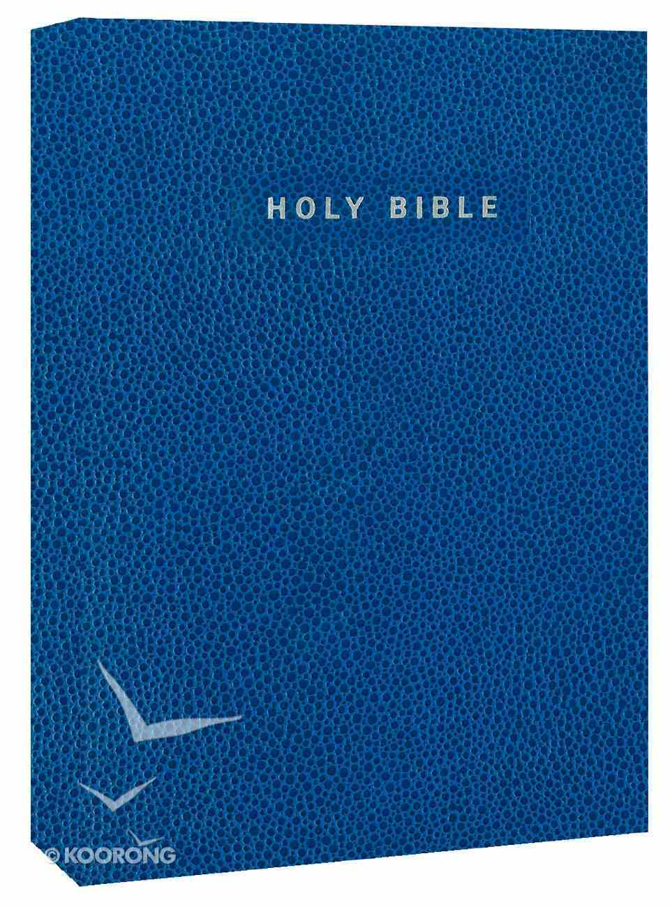 NIV Gift & Award Softcover Bible Blue (Red Letter Edition) Imitation Leather