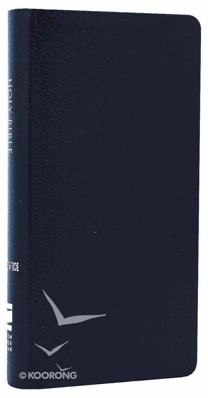 NIV Trimline Bible Navy (Red Letter Edition) Bonded Leather