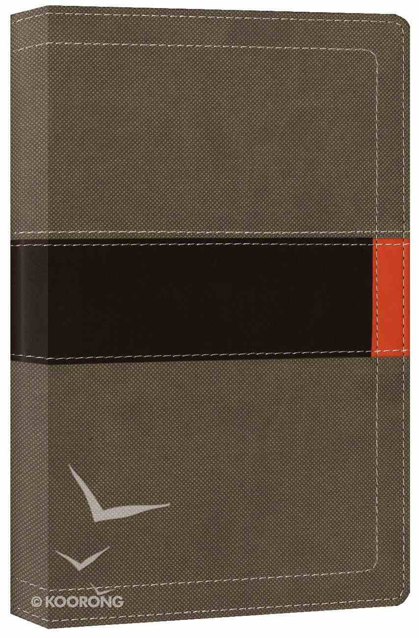 NIV Student Bible Compact Clay/Fatigue Green (Black Letter Edition) Premium Imitation Leather