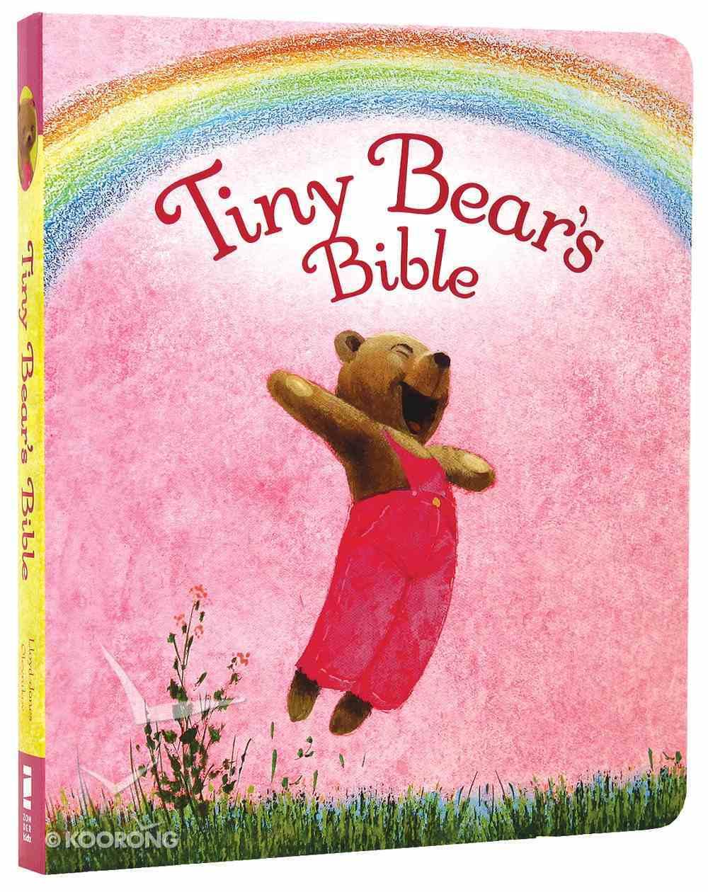 Tiny Bear's Bible Pink Board Book