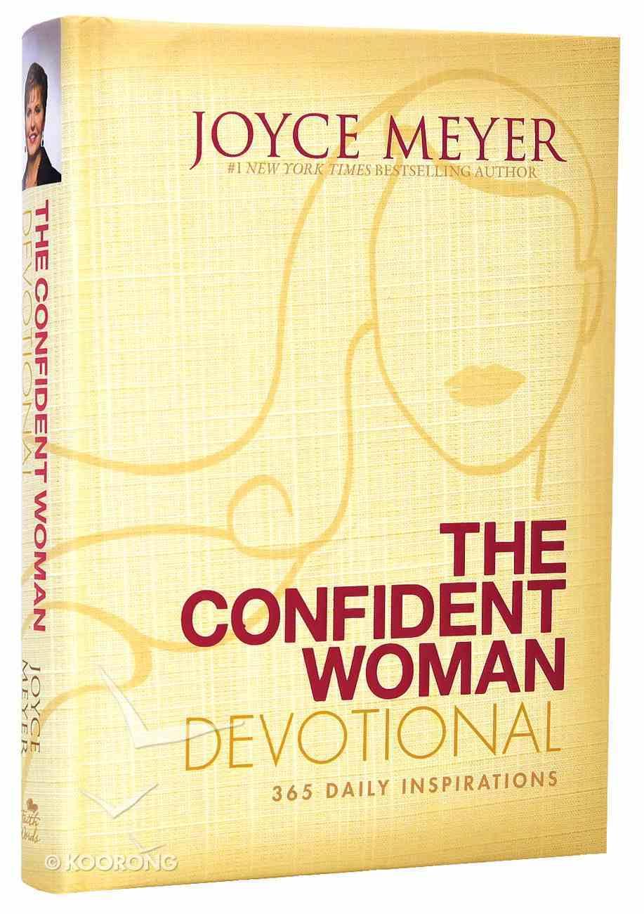Confident Woman Devotional Hardback