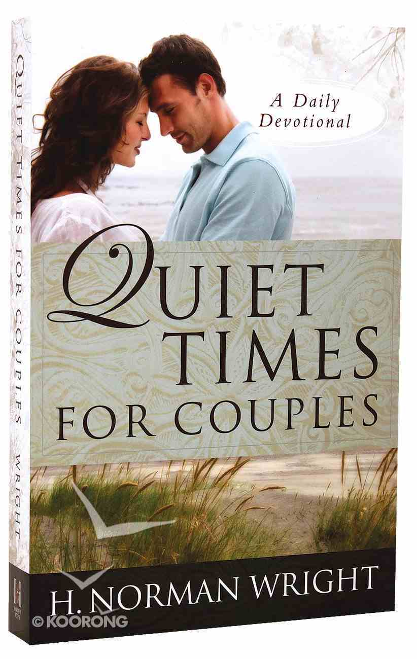 Quiet Times For Couples Paperback