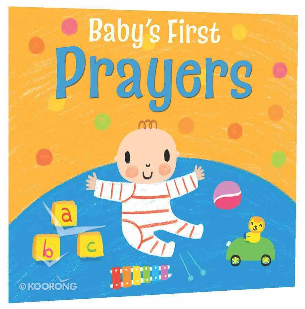 Baby's First Prayers Board Book