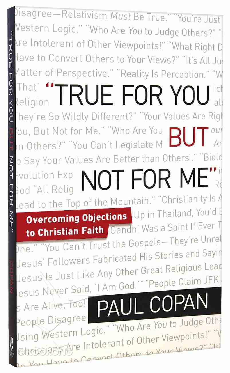 True For You But Not For Me Paperback