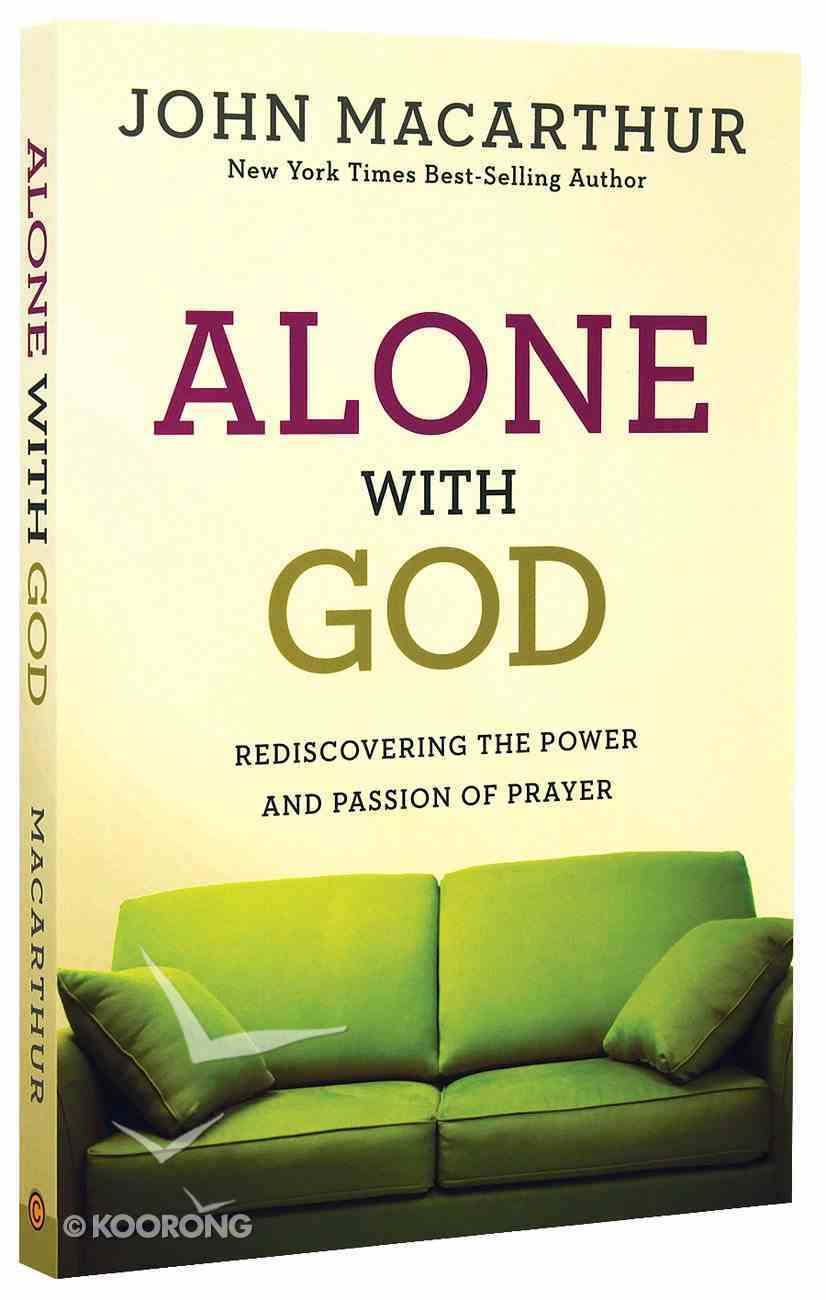 Alone With God Paperback