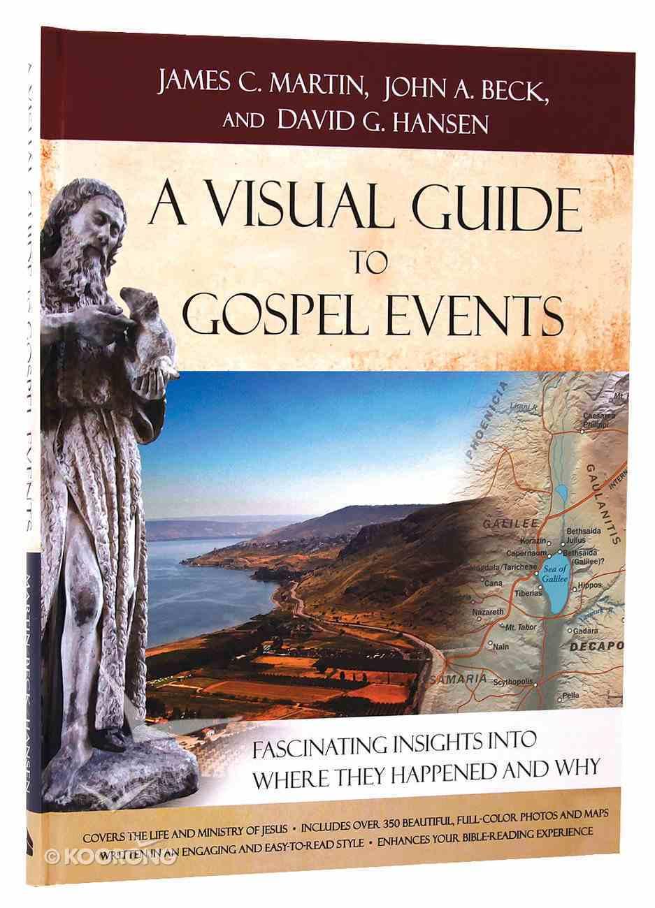 A Visual Guide to Gospel Events Hardback