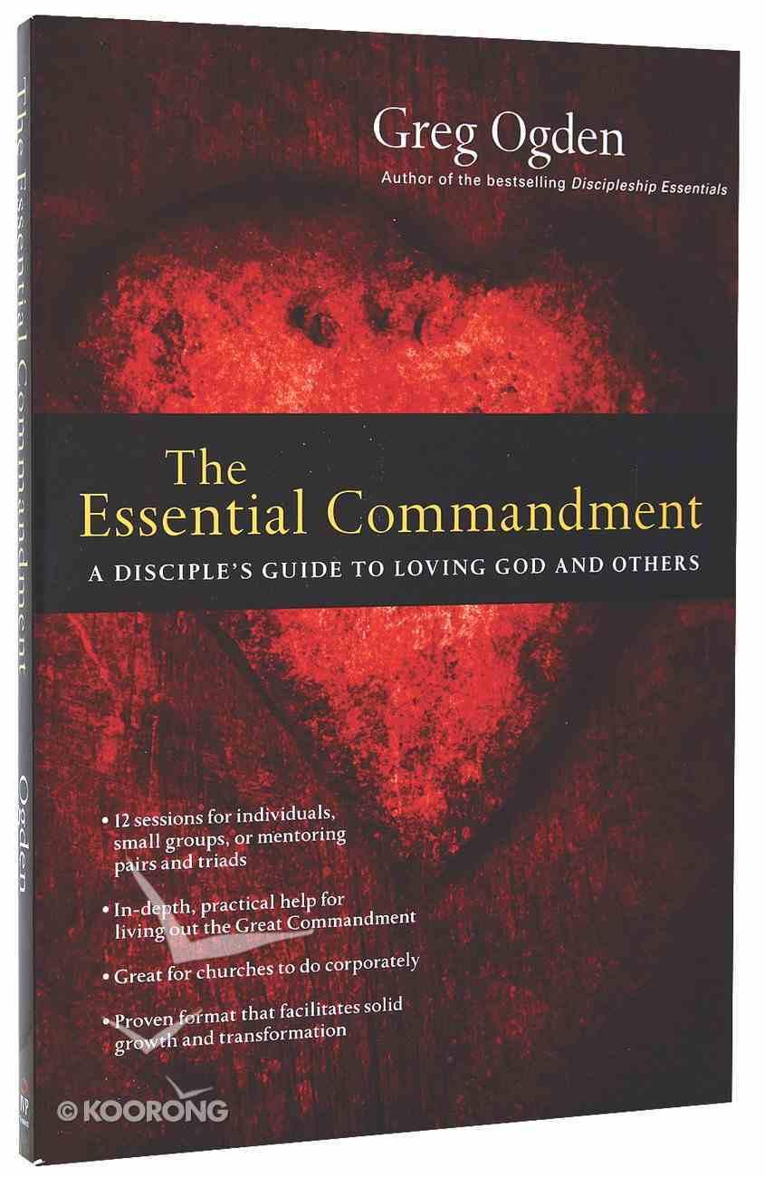 The Essential Commandment Paperback