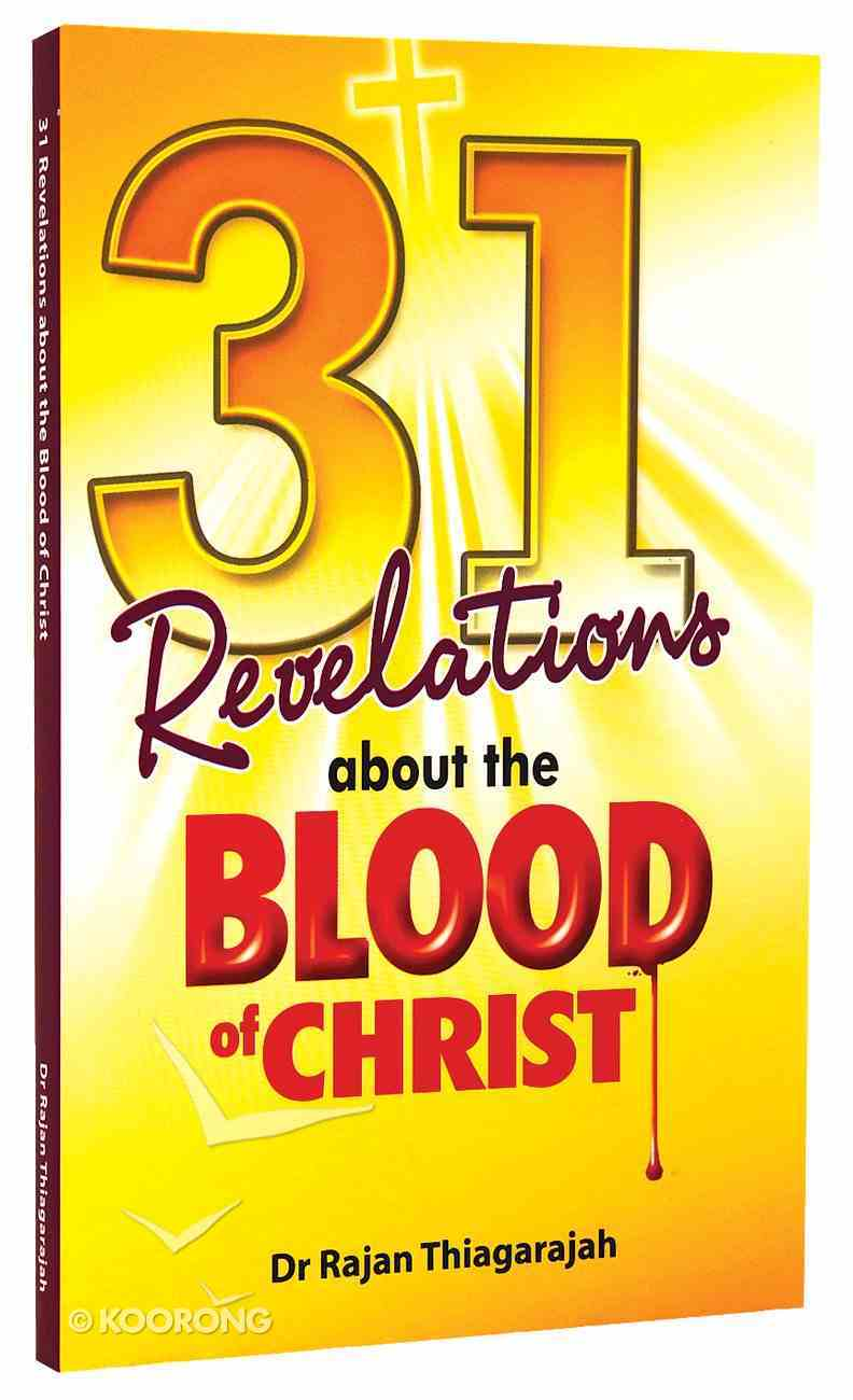 31 Revelations About the Blood of Christ Paperback