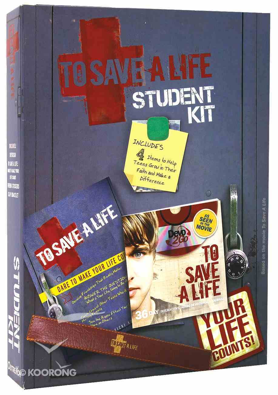 Students Kit (CD Rom in MP3 Format) (To Save A Life Series) Pack