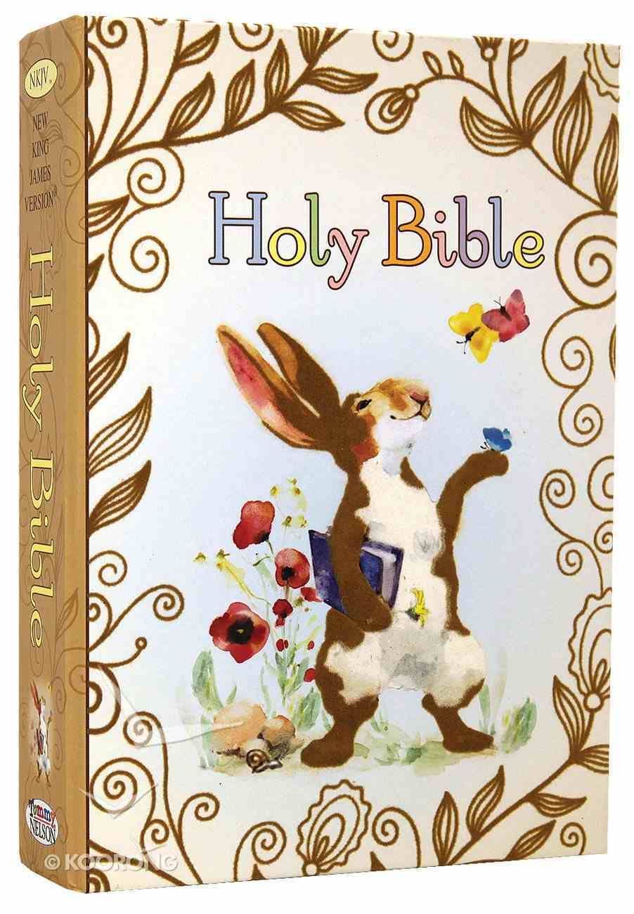 NKJV Velveteen Bible Hardback