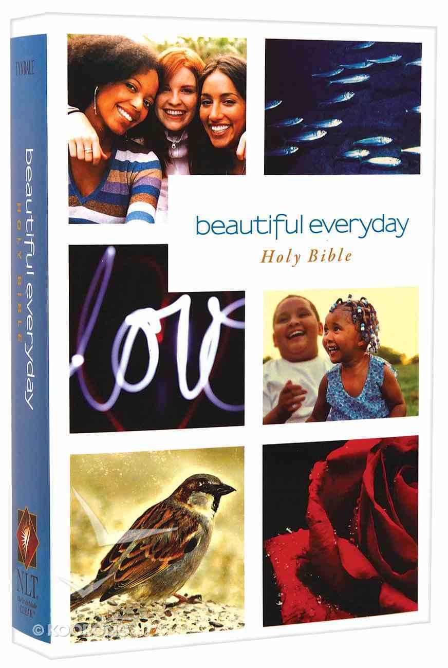 NLT Beautiful Everyday Holy Bible Paperback