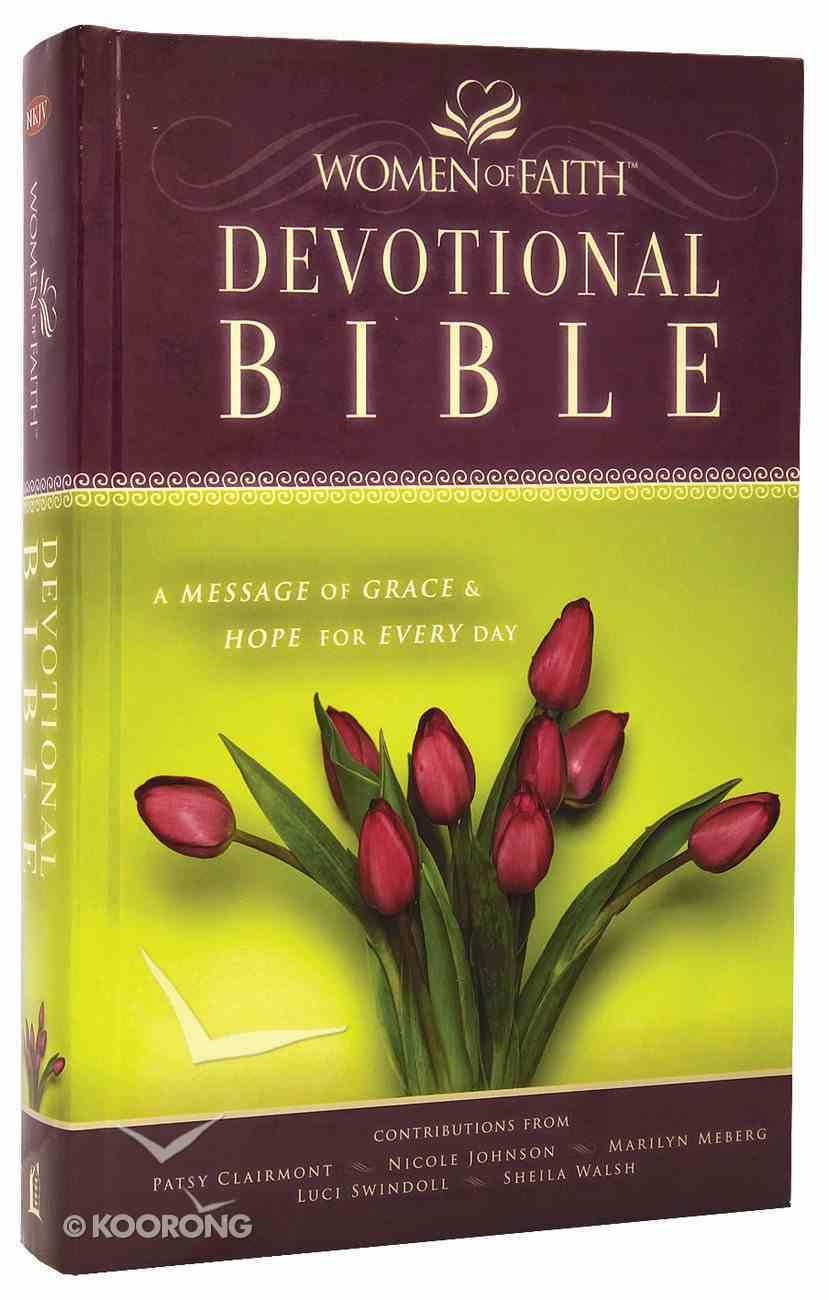 NKJV Women of Faith Devotional Bible (Black Letter Edition) Hardback