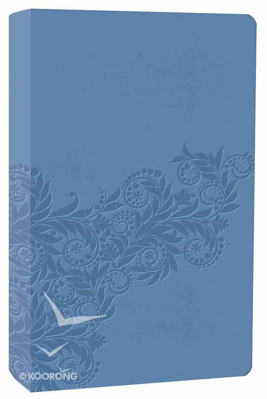 NKJV Gift Bible Cornflower Blue Premium Imitation Leather