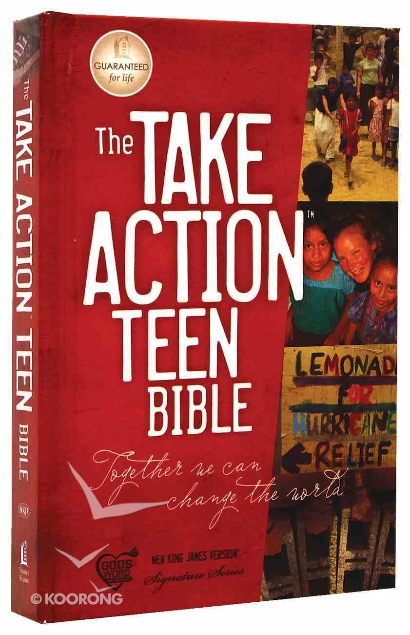 NKJV Take Action Teen Bible Hardback