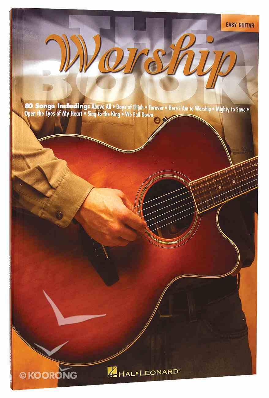 Worship Book - Easy Guitar (Music Book) Paperback