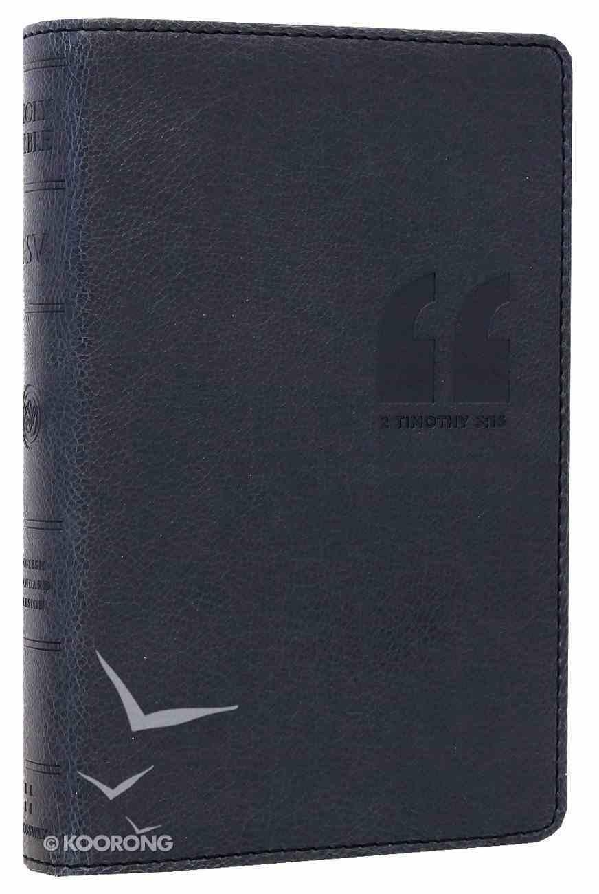 ESV Compact Bible Granite Quotation Design Imitation Leather