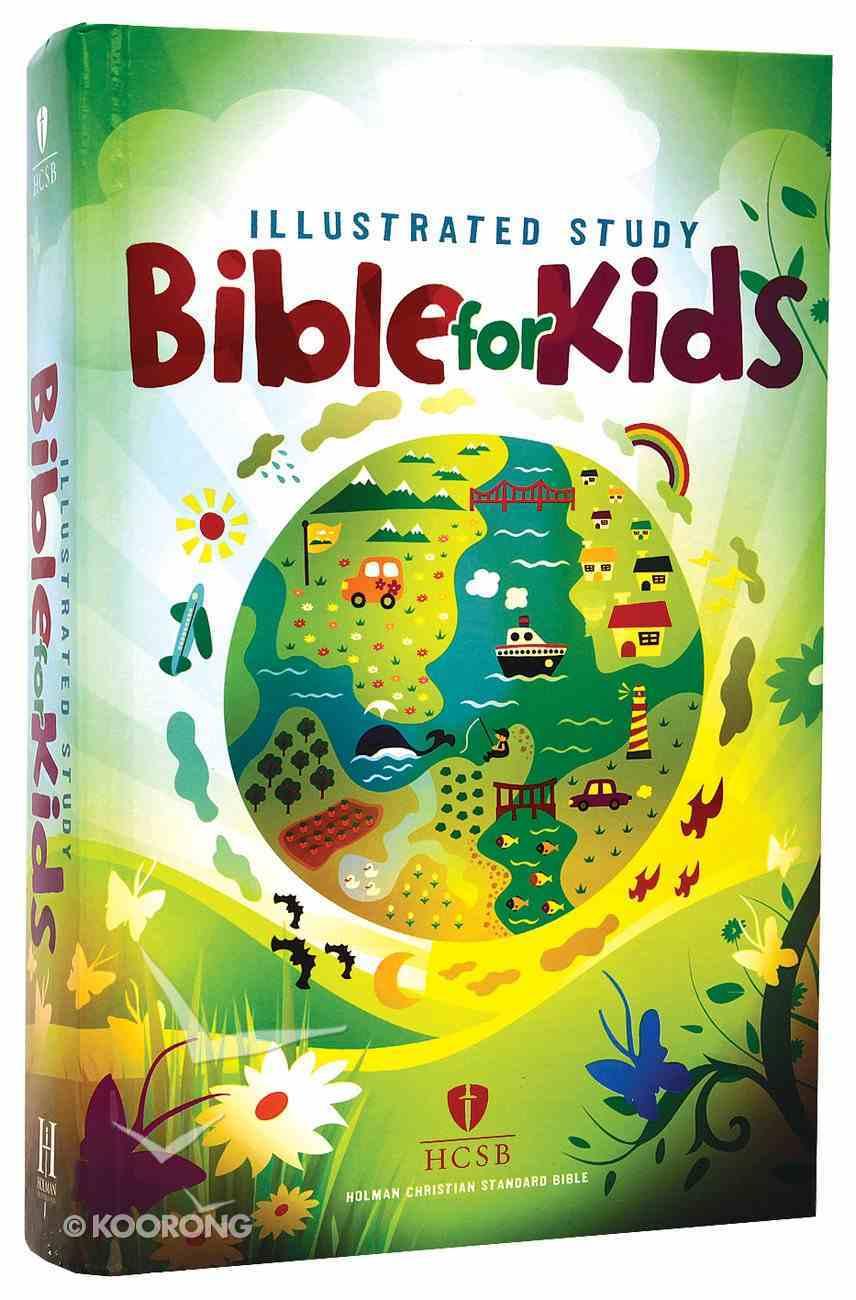 HCSB Illustrated Study Bible For Kids Hardback