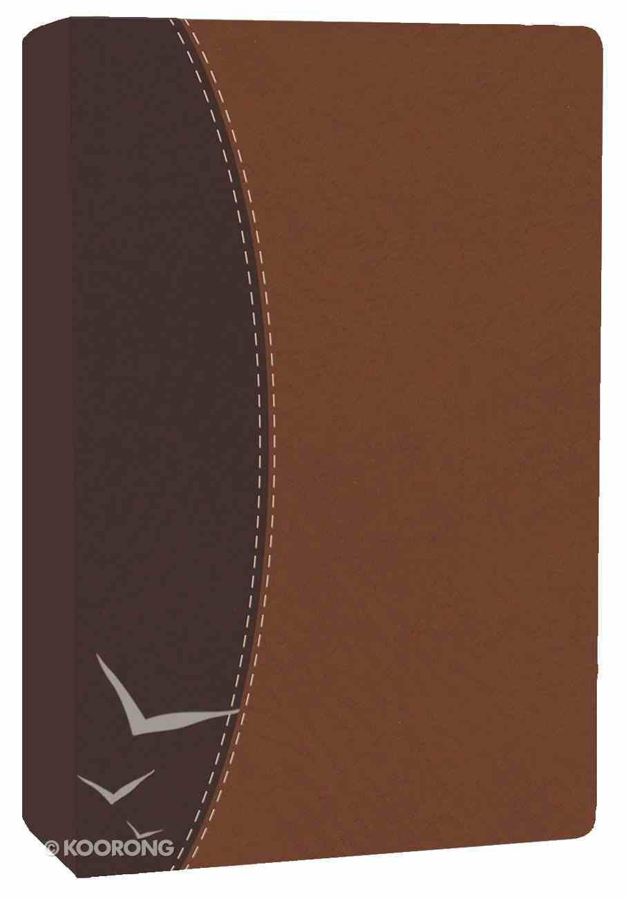 HCSB Ultrathin Dark Brown/Brown Imitation Leather