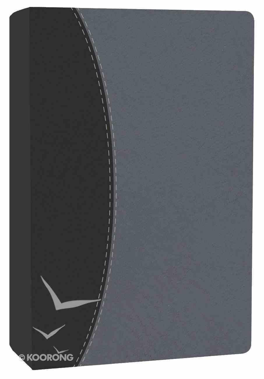 HCSB Ultrathin Black/Pearl Gray Imitation Leather