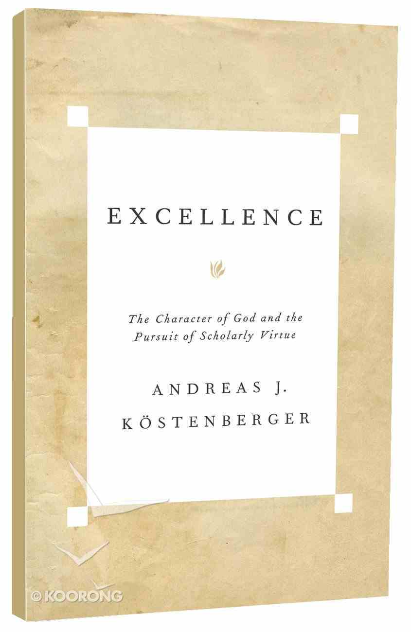 Excellence Paperback