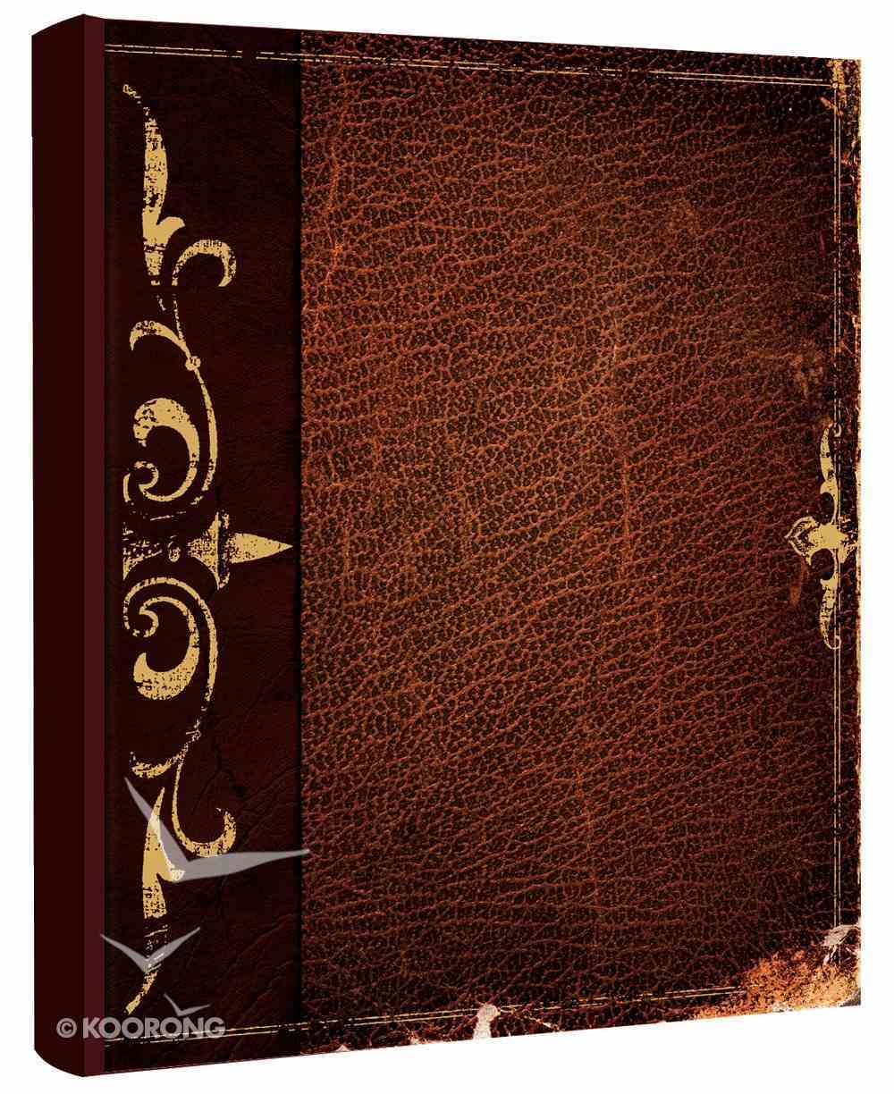 HCSB Notetaker's Bible (Red Letter Edition) (Men's Edition) Hardback