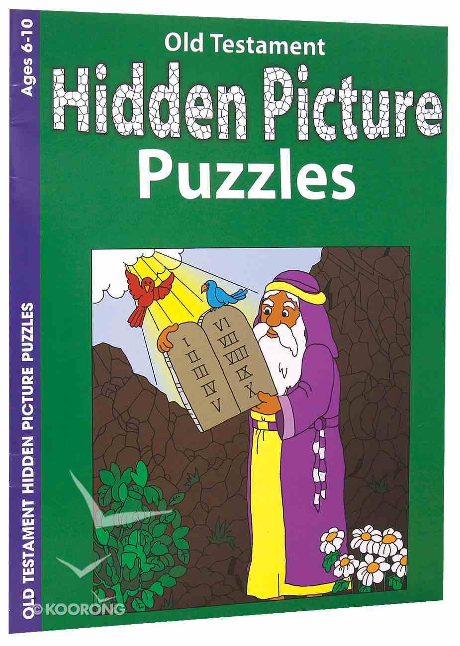 Old Testament Hidden Picture Puzzles (Ages 6-10, Reproducible) (Warner Press Colouring & Activity Books Series) Paperback