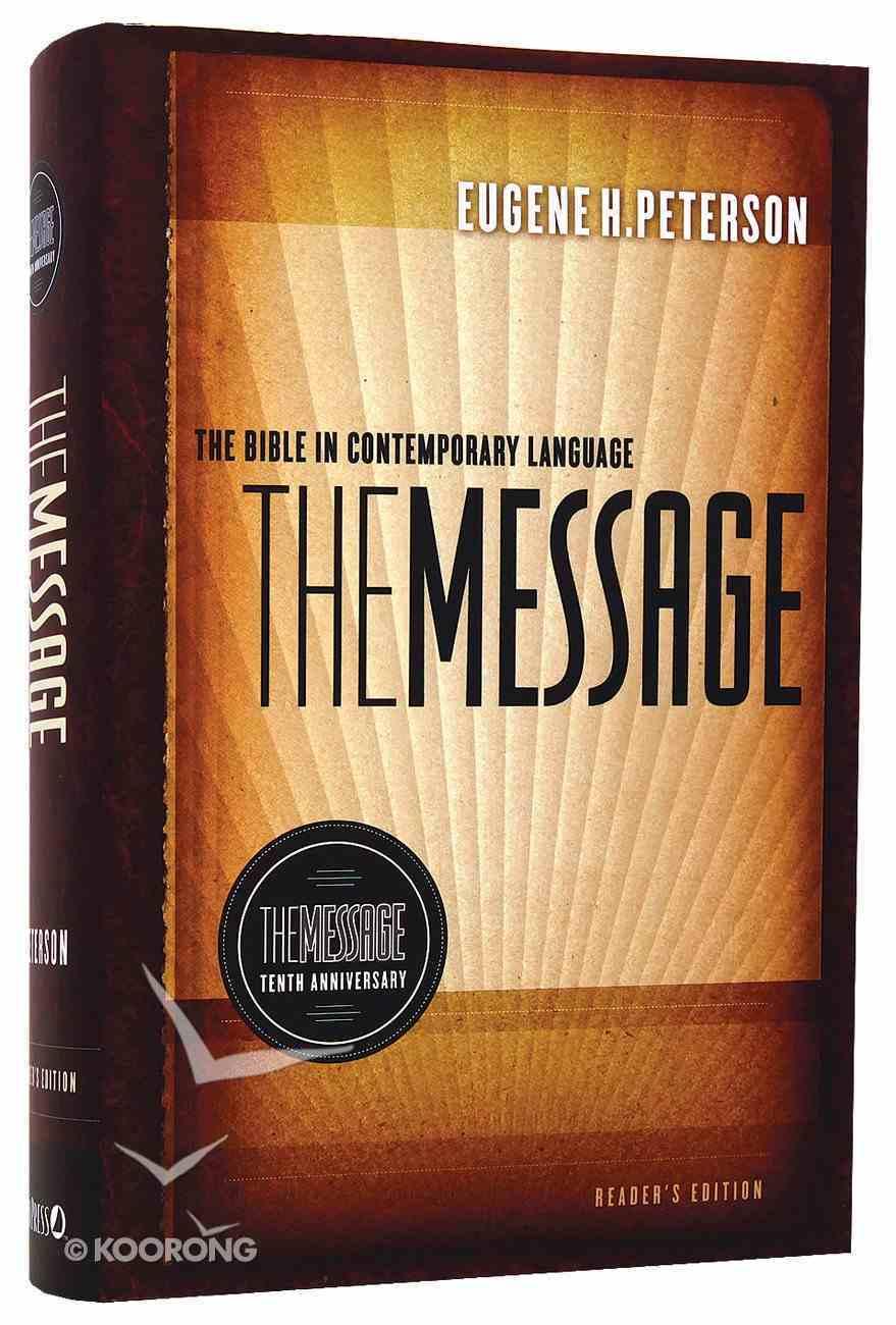 Message 10Th Anniversary Reader's Edition (Black Letter Edition) Hardback