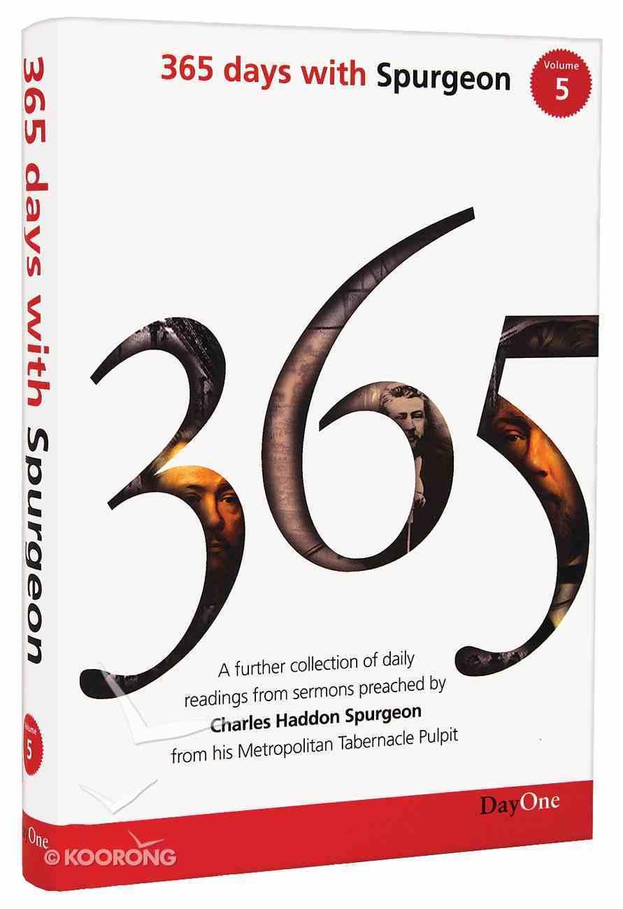 365 Days With Spurgeon (Vol 5) Hardback