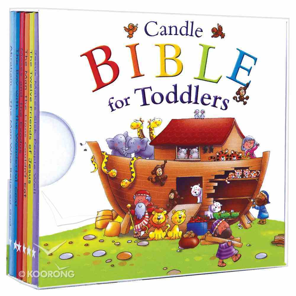 My Little Library (Six Board Books in a Handy Slipcase) (Candle Bible For Toddlers Series) Board Book