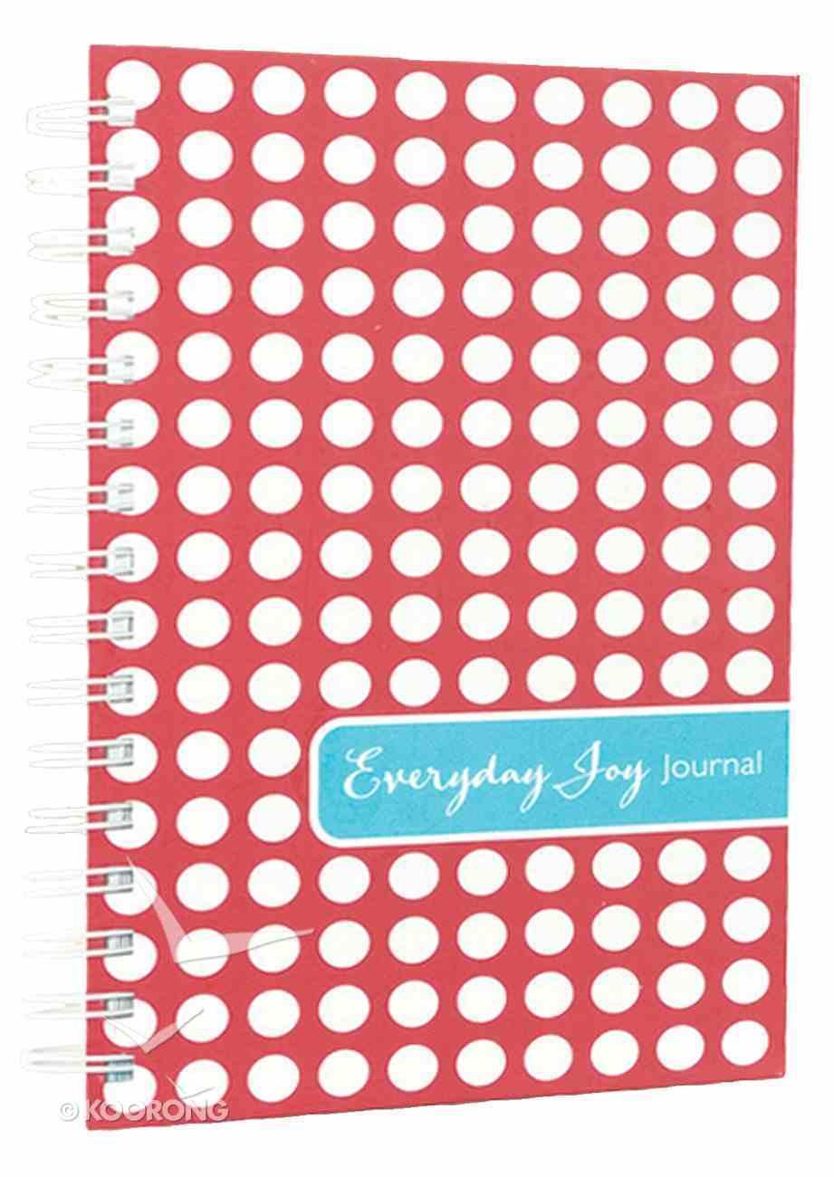 Journal: Everyday Joy Polka Dot Stationery