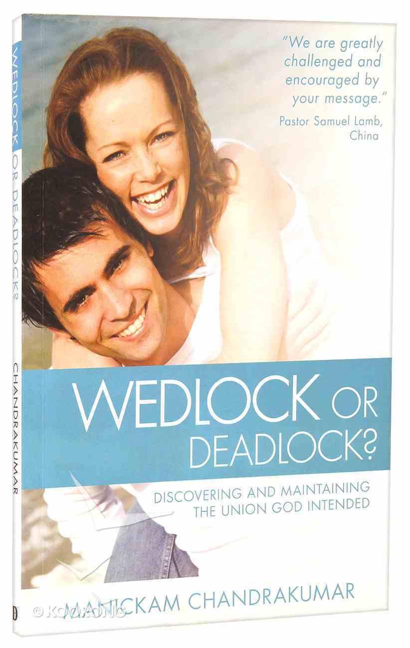 Wedlock Or Deadlock? Paperback