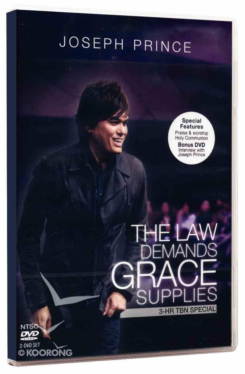 The Law Demands, Grace Supplies DVD