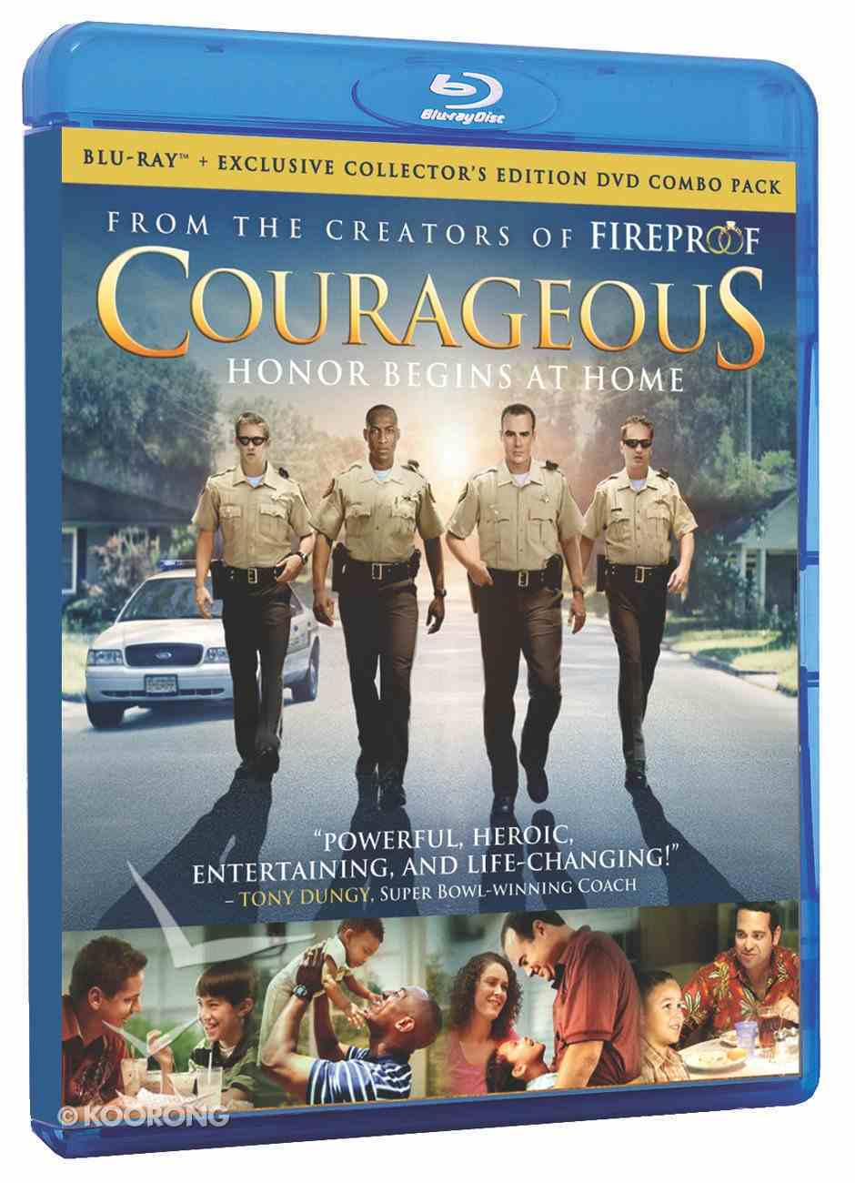 Courageous (Blu-Ray Collector's Edition) (Courageous Series) Blu-ray Disc