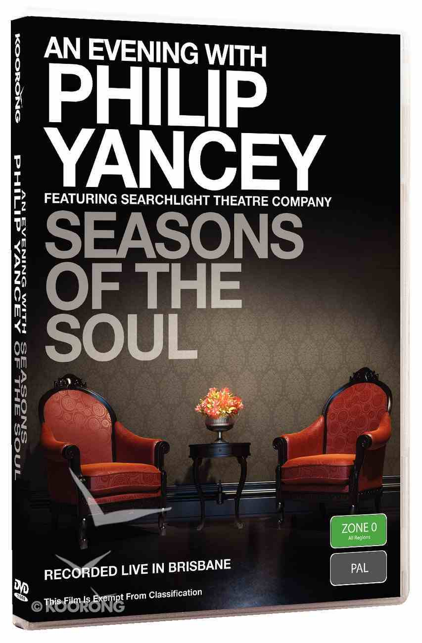 Seasons of the Soul (An Evening With Philip Yancey Series) DVD