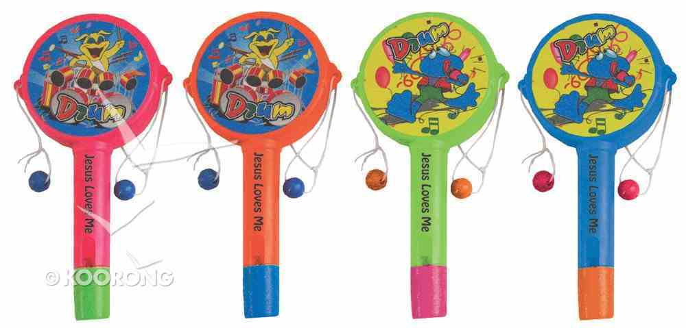 Whistle Rattle: 4 Pieces Per Pack Novelty