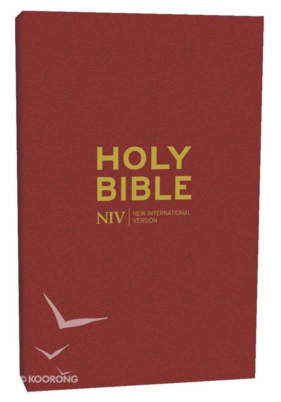 NIV Popular Burgundy Bible Hardback
